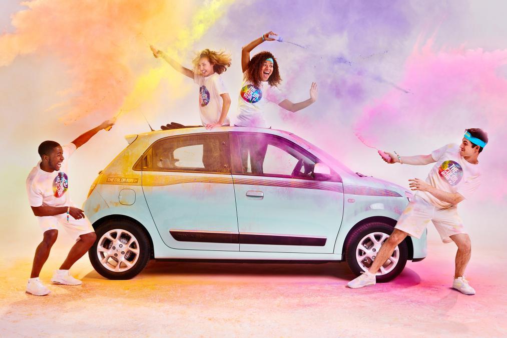 """Ngắm Renault Twingo """"The Color Run"""" bản đặc biệt mới - 2"""