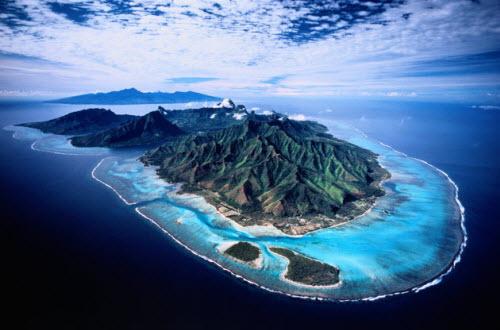 Hòn đảo đẹp nhất thế giới ngỡ như không tồn tại - 1