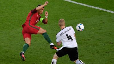 Chi tiết Bồ Đào Nha - Áo: Ronaldo đá hỏng phạt đền (KT) - 7