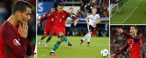 Ronaldo lập kỷ lục buồn: Đá phạt kém, đá 11m tồi - 1