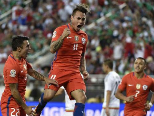 Mexico - Chile: Ác mộng 7 bàn thua - 1
