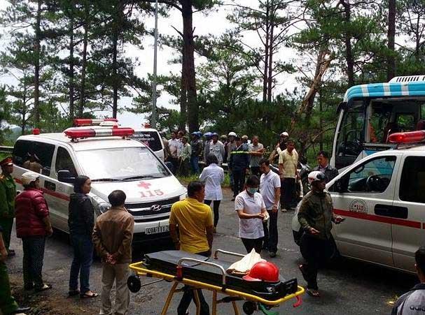 Tai nạn thảm khốc trên đèo Prenn: Do mất phanh? - 1
