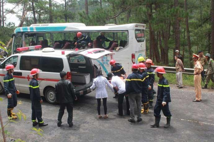 Tai nạn thảm khốc trên đèo Prenn: Do mất phanh? - 3