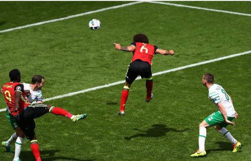 """Ảnh đẹp Euro 19/6: Ronaldo làm """"tan nát"""" trái tim người Bồ - 2"""