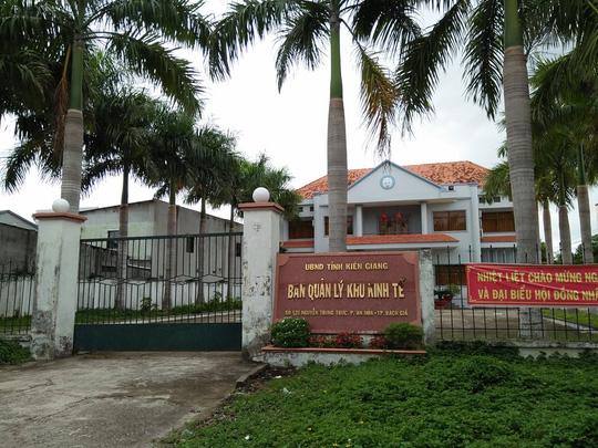 Kỷ luật Trưởng Ban quản lý Khu kinh tế tỉnh Kiên Giang - 1