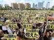 """65.000 người Nhật biểu tình đòi """"dẹp"""" căn cứ quân sự Mỹ"""
