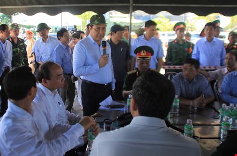Vụ chìm tàu: Chủ tịch Đà Nẵng gửi thư cảm ơn người dân - 1