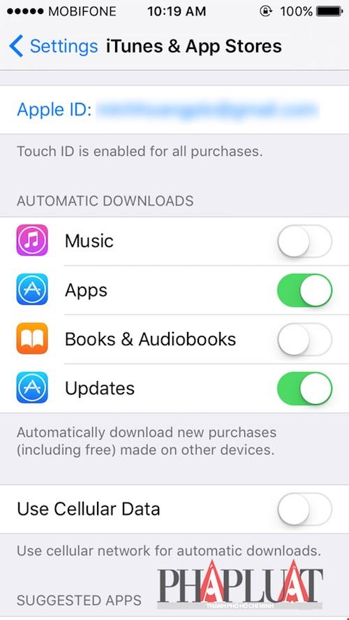 4 thủ thuật tiết kiệm 3G trên iPhone - 1