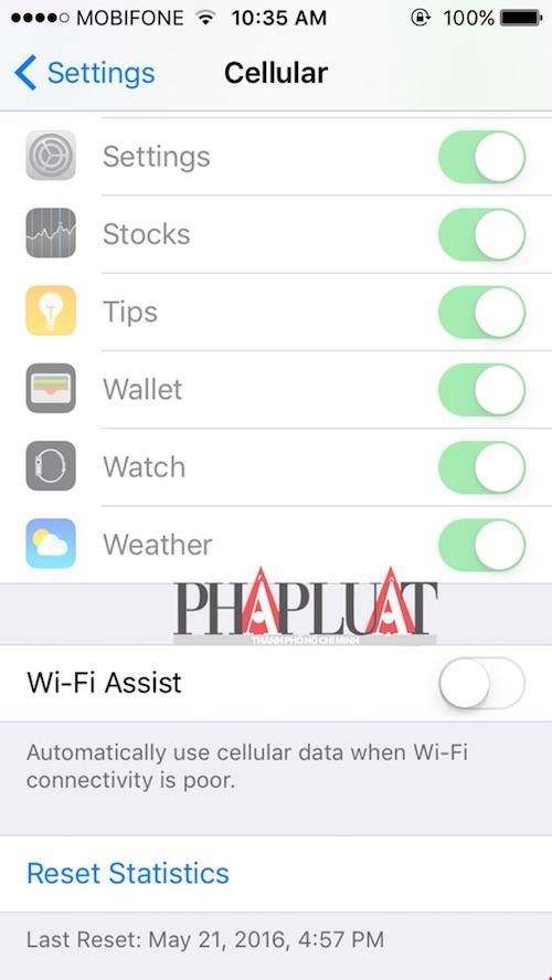 4 thủ thuật tiết kiệm 3G trên iPhone - 3