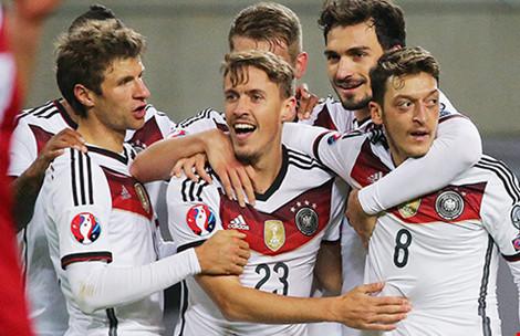 'Ý gây ấn tượng mạnh, Đức sáng cửa vô địch' - 1