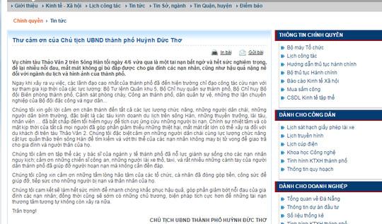 Đà Nẵng hỗ trợ con nạn nhân vụ chìm tàu 200 triệu đồng - 2