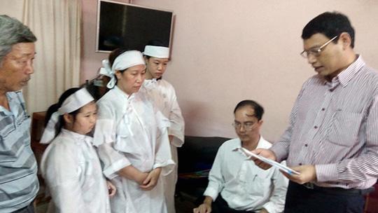 Đà Nẵng hỗ trợ con nạn nhân vụ chìm tàu 200 triệu đồng - 1