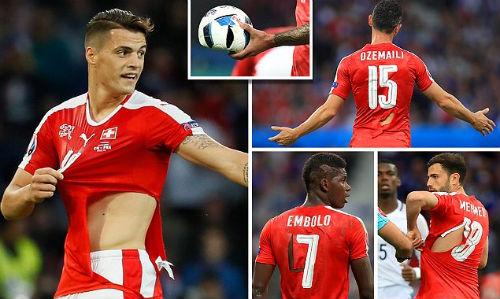 """Ảnh đẹp Euro 20/6: Pogba chúc mừng """"Ngày của bố"""" - 8"""