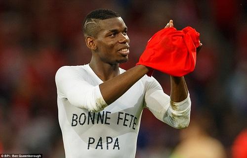 """Ảnh đẹp Euro 20/6: Pogba chúc mừng """"Ngày của bố"""" - 11"""