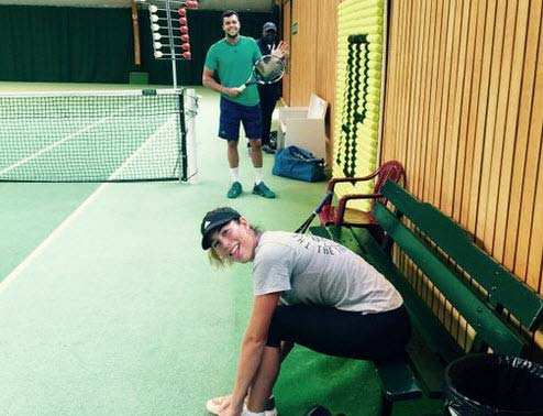 Tin thể thao HOT 20/6: Nữ hoàng Roland Garros tập với Tsonga - 1