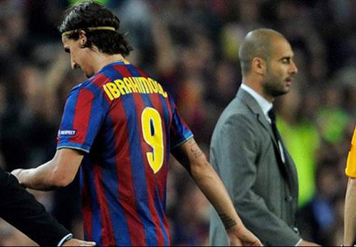 """Ibra đến MU là để """"trả thù"""" Pep Guardiola - 1"""