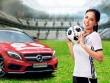 Mai Phương Thúy đồng hành cùng Mercedes-Benz ủng hộ đội tuyển Đức