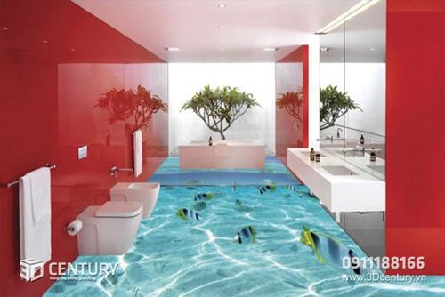 Biến hóa không gian nhà bạn với Sàn gạch 3D - 1