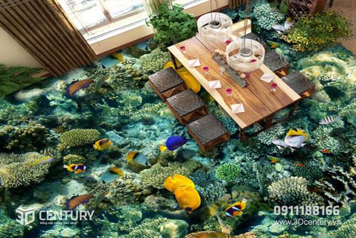 Biến hóa không gian nhà bạn với Sàn gạch 3D - 2