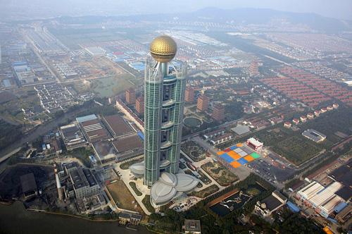 """""""Vua bất động sản"""" dồn dập trở lại Trung Quốc - 1"""