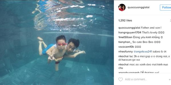 Sinh nhat con trai Ho Ngoc Ha - 3