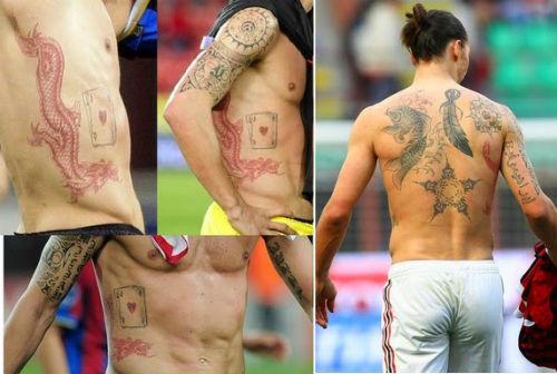 """Ảnh đẹp Euro 21/6: Ramos, Ibra đọ tài """"vua hình xăm"""" - 10"""