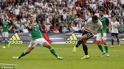 trực tiếp Đức vs Bắc Ireland - 6
