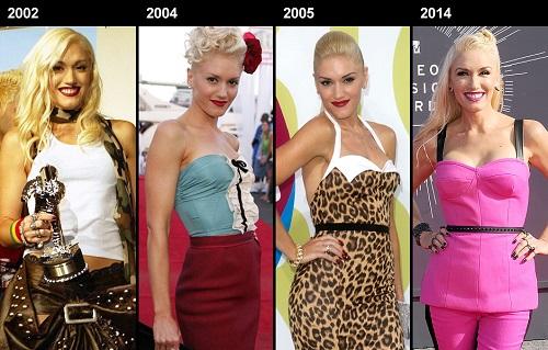 Gwen Stefani trẻ đẹp không nếp nhăn ở tuổi 46 - 1