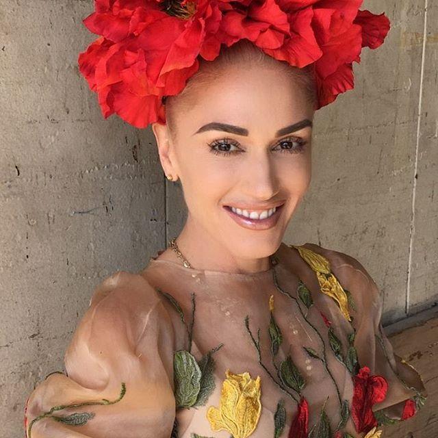 Gwen Stefani trẻ đẹp không nếp nhăn ở tuổi 46 - 2