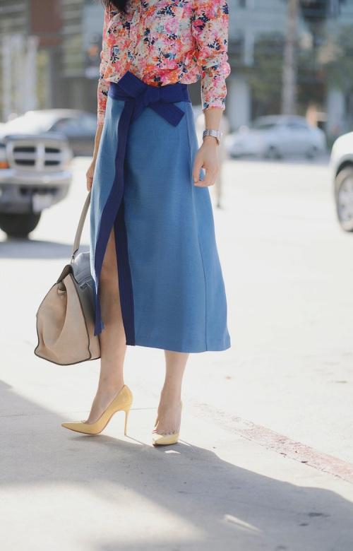 Kiểu váy giúp bạn nhìn cao hơn và chân dài miên man - 2