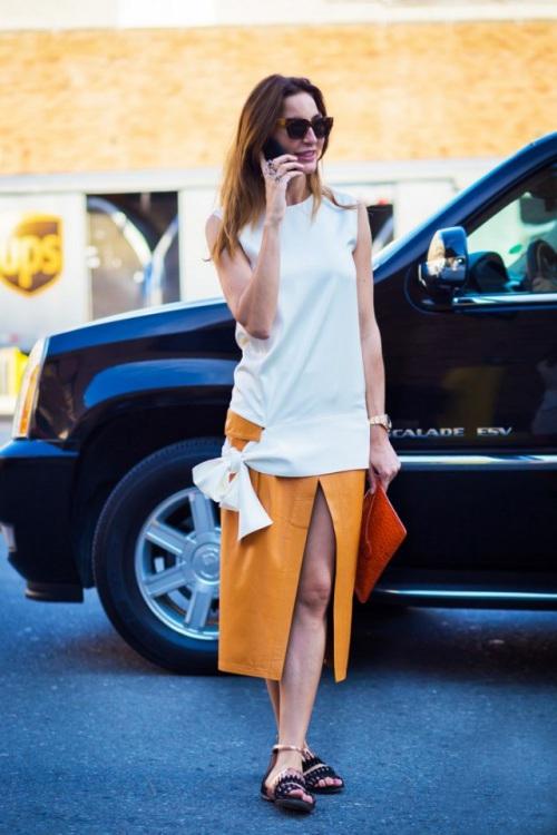 Kiểu váy giúp bạn nhìn cao hơn và chân dài miên man - 4