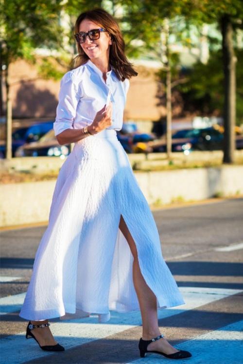 Kiểu váy giúp bạn nhìn cao hơn và chân dài miên man - 9