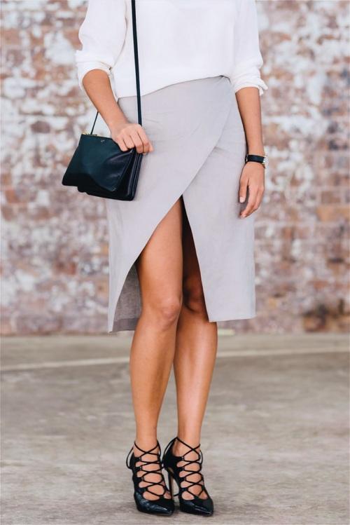 Kiểu váy giúp bạn nhìn cao hơn và chân dài miên man - 7