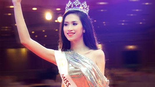 Video Hoa hậu Thu Vũ nói tiếng Anh mà không ai hiểu gì - 1