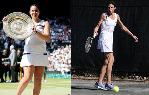 Sốc với nữ vương Wimbledon 2013: Người đẹp thành bà lão - 1