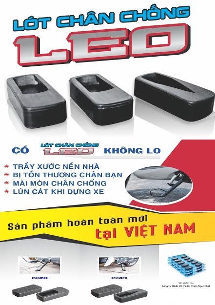Tránh tổn thương chân bằng lót chân chống LEO - 4
