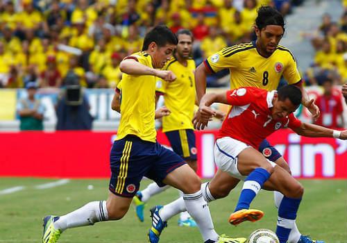 colombia vs chile - 1