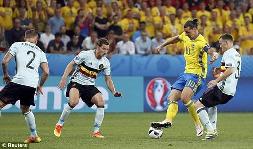 """Toàn cảnh Ibrahimovic """"cháy"""" lần cuối cùng ĐT Thụy Điển - 2"""
