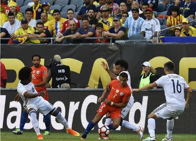 Chi tiết Colombia – Chile: Phần thưởng xứng đáng (KT) - 4