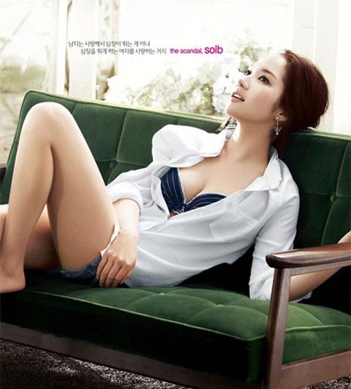 Hinh anh goi cam cua Park Min Young - 9