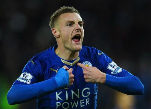 """""""Lật kèo"""" Arsenal, Vardy ở lại Leicester thêm 4 năm - 1"""