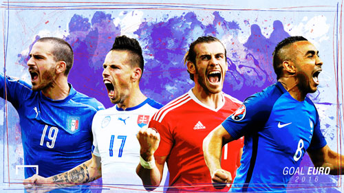 Dream Team vòng bảng Euro: Bale đánh bật Ronaldo - 1