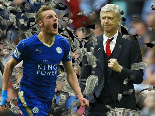 """""""Lật kèo"""" Arsenal, Vardy ở lại Leicester thêm 4 năm - 2"""