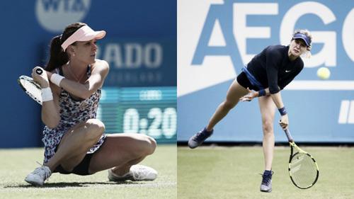 """Tennis: Người đẹp bắt vô-lê hạ gục """"hoa khôi"""" - 1"""