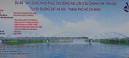 Chùm ảnh: Cầu Ghềnh mới trước ngày thông tàu - 1
