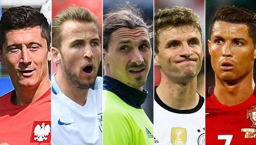 Ronaldo, Ibra tới Muller: Ghi bàn ở Euro quá khó - 1