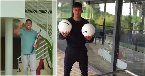 Em gái cưng khuyên Neymar rời Barca - 1
