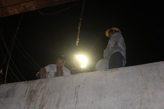 Đêm trên công trường cầu Ghềnh - 5