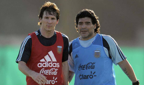 Maradona: Argentina không vô địch Copa, đừng về nước - 1