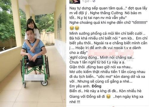 Tình yêu cổ tích của nữ sinh Việt với bạn trai cụt chân - 1